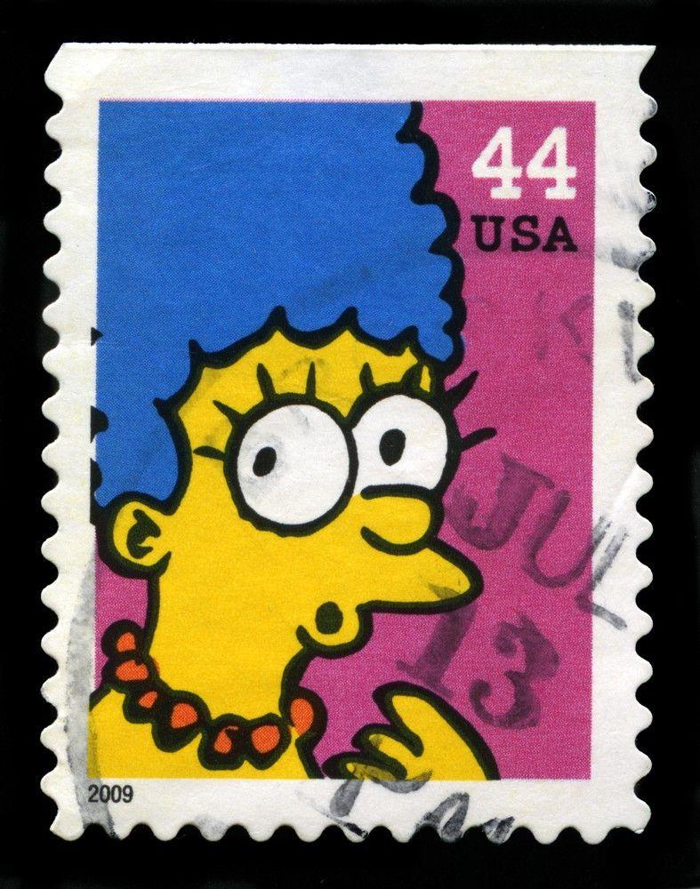 """... und auch die us-amerikanische Post hat """"Die Simpsons"""" bereits als Motiv entdeckt."""