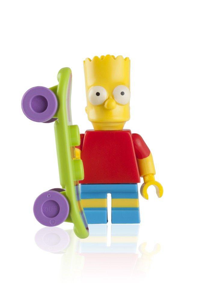 """Auch der dänische Spielzeugkonzern LEGO hat die unbegrenzten Vermarktungsmöglichkeiten der """"gelbsten Familie der Welt"""" bereits für sich entdeckt."""