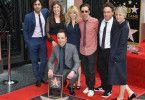 "Die Stars aus ""The Big Bang Theory"": Kunal Nayyar, Mayim Bialik, Jim Parsons, Melissa Rauch, Simon Helberg, Johnny Galecki und Kaley Cuoco."
