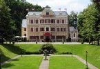 """Das Vagener Schloss ist als Hotel """"Fürstenhof"""" Schauplatz für die ARD-Telenovela """"Sturm der Liebe""""."""