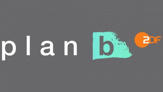 """Logo """"plan b""""."""