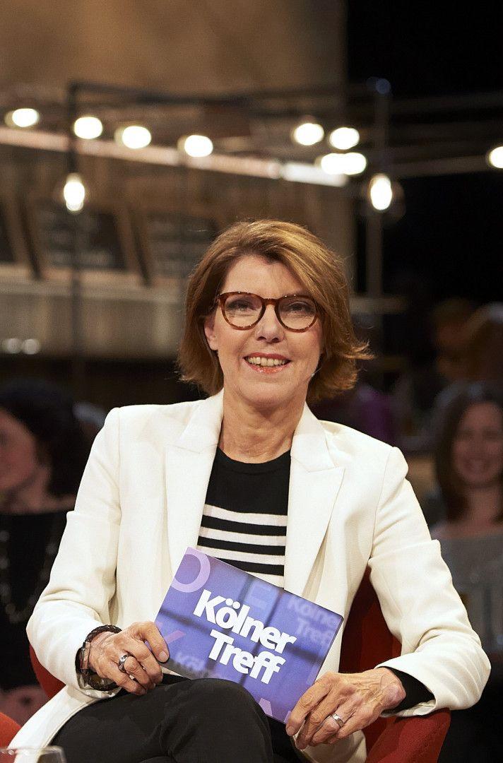 "Bettina Böttinger - Moderatorin ""Kölner Treff""."