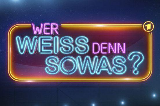 ARD WER WEISS DENN SOWAS?, Logo der Sendung.