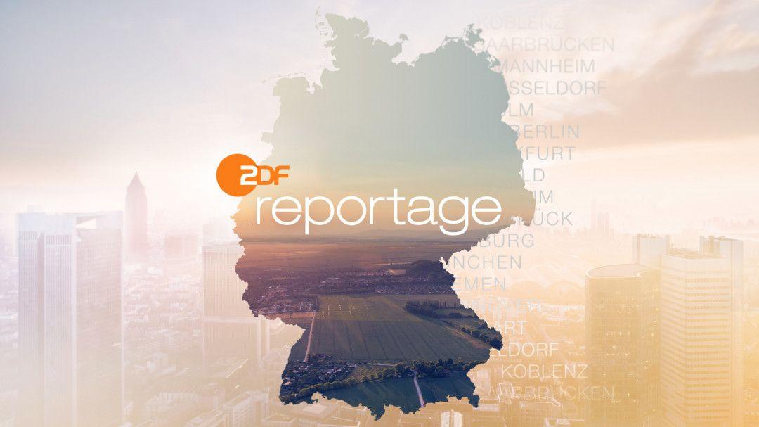 "Logo ""ZDF.reportage""."