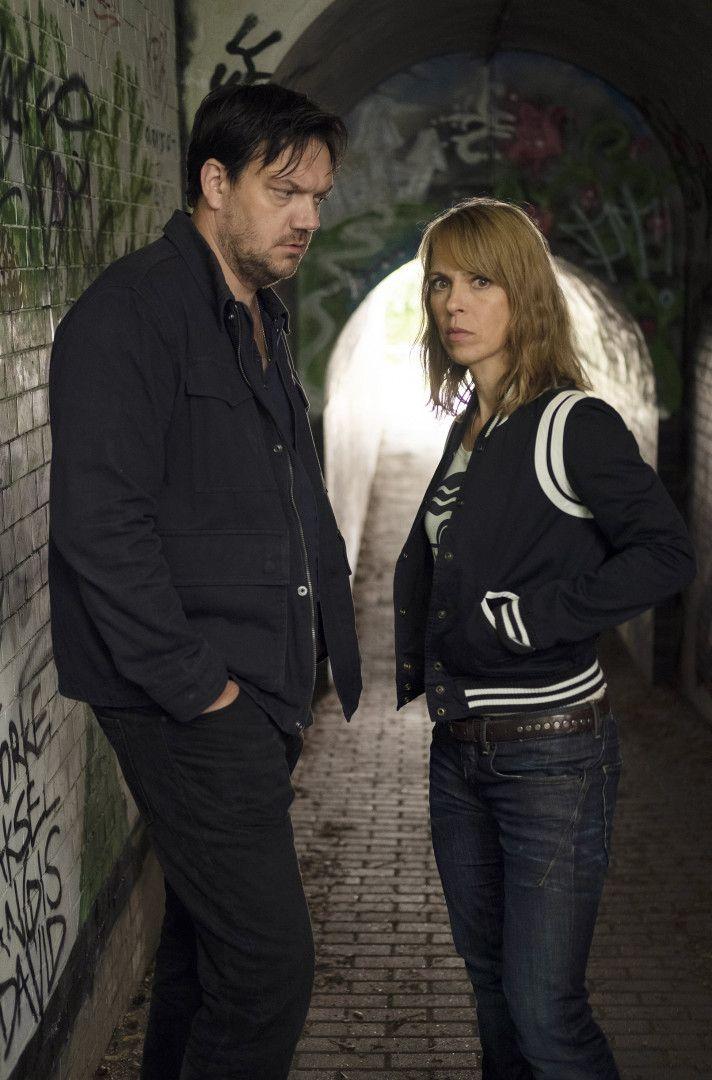 Alexander Bukow (Charly Hübner) und Katrin König (Anneke Kim Sarnau)