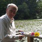 Mario Livino erklärt den Zusammenhang zwischen der Fibonacci-Folge und Blütenblättern.