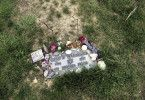 Letzte Ruhe. Grab von Otto Warmbier in Cincinnati. Weitere Fotos auf Anfrage.