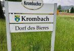 Die Brauerei Krombacher engagiert sich im Regenwald und wirbt mit dem Slogan ÑEine Perle der Naturì. Kritiker werfen der Brauerei jedoch vor, dass sie in Krombach und Umgebung weniger umweltbewusst vorgeht.