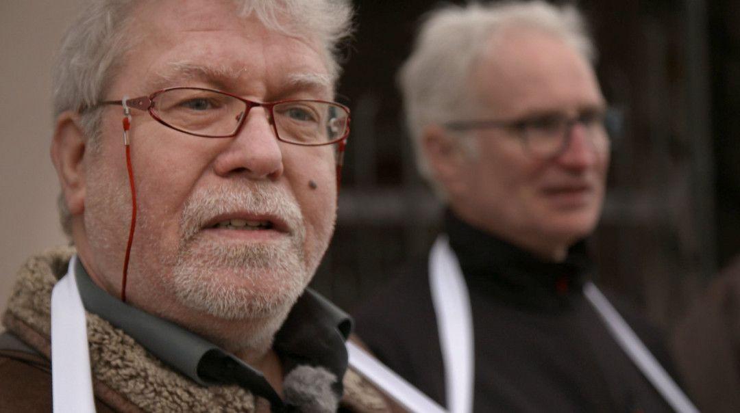 Karl Haucke, Sprecher des Betroffenen-Beirats