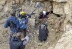 Ausgrabungen im ehemaligen Steinbruch des Konzentrationslagers Buchenwald bei Weimar. MDR Projekt Weimar   02.10.2019   Foto: Holger John