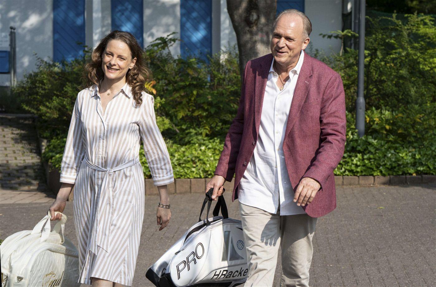 Anne Ratte-Polle (Monika Boenfeld), Ulrich Tukur (Felix Murot/Walter Boenfeld).