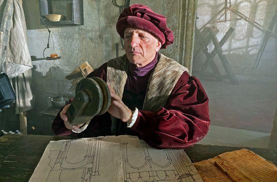 Das gotische Bauprinzip stachelte die Baumeister zu immer tollkühneren Konstruktionen an.