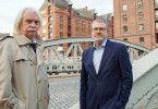 Axel Petermann trifft Journalist Christian Krug. Um das Leben Reemtsmas nicht zu gefährden, hat die Presse während der Entführung nicht berichtet.