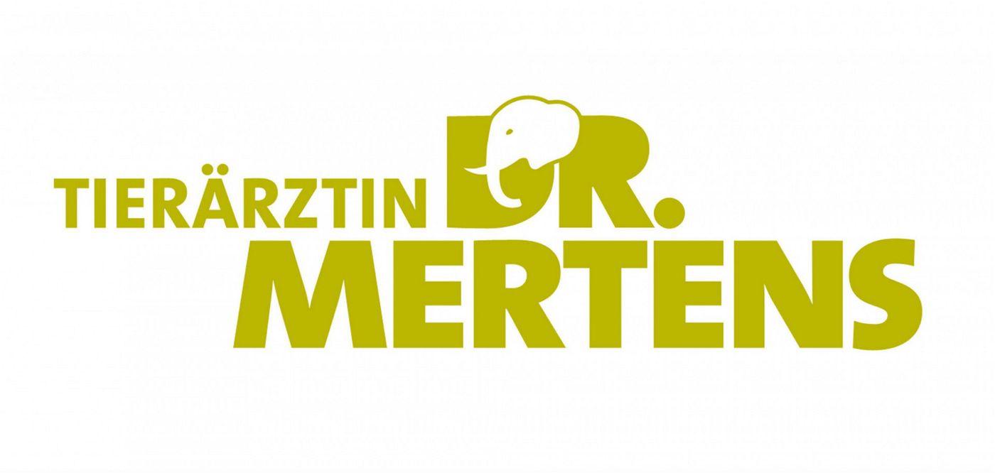 ARD TIERÄRZTIN DR. MERTENS, logo.