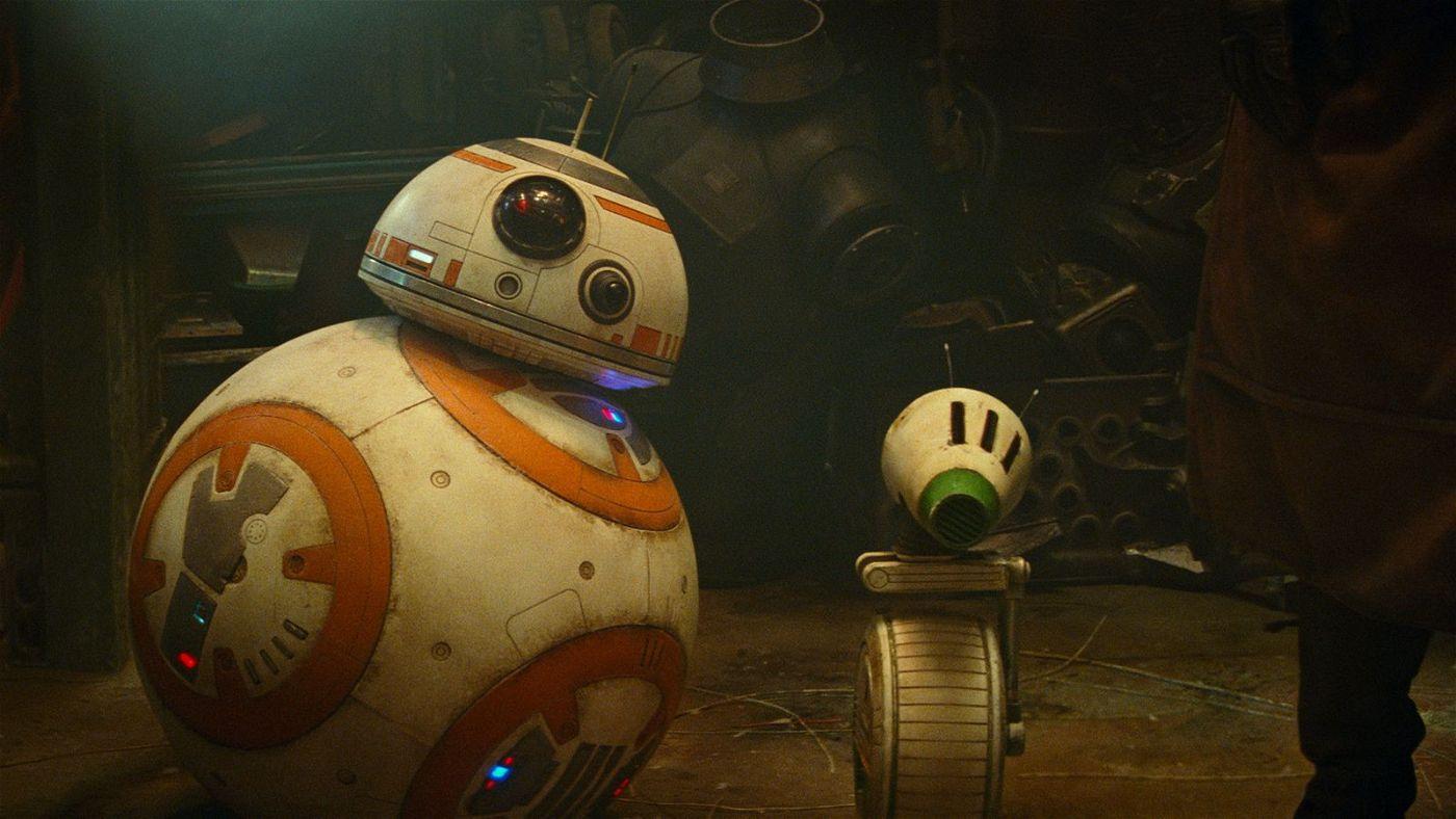 Drollige Gesellen: BB-8 (links) hat einen neuen Freund gefunden.
