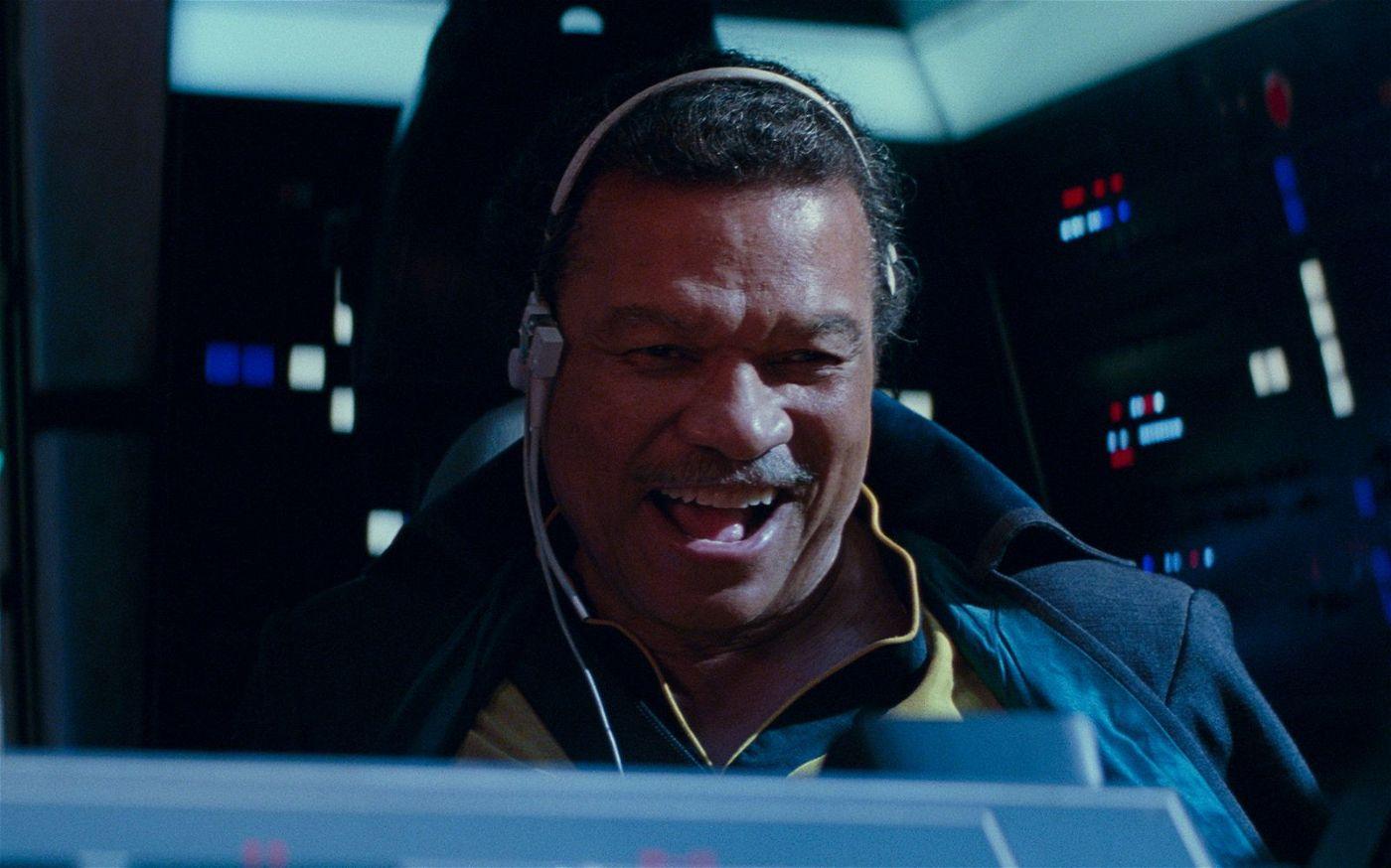 Wiedersehen mit einem alten Bekannten: Lando Calrissian (Billy Dee Williams) schlägt sich auf die Seite der Rebellen.
