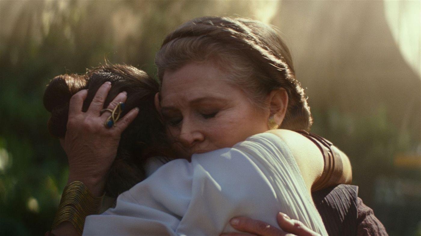 """Carrie Fisher verstarb im Dezember 2016. In """"Der Aufstieg Skywalkers"""" hat sie nun ihren letzten Auftritt."""