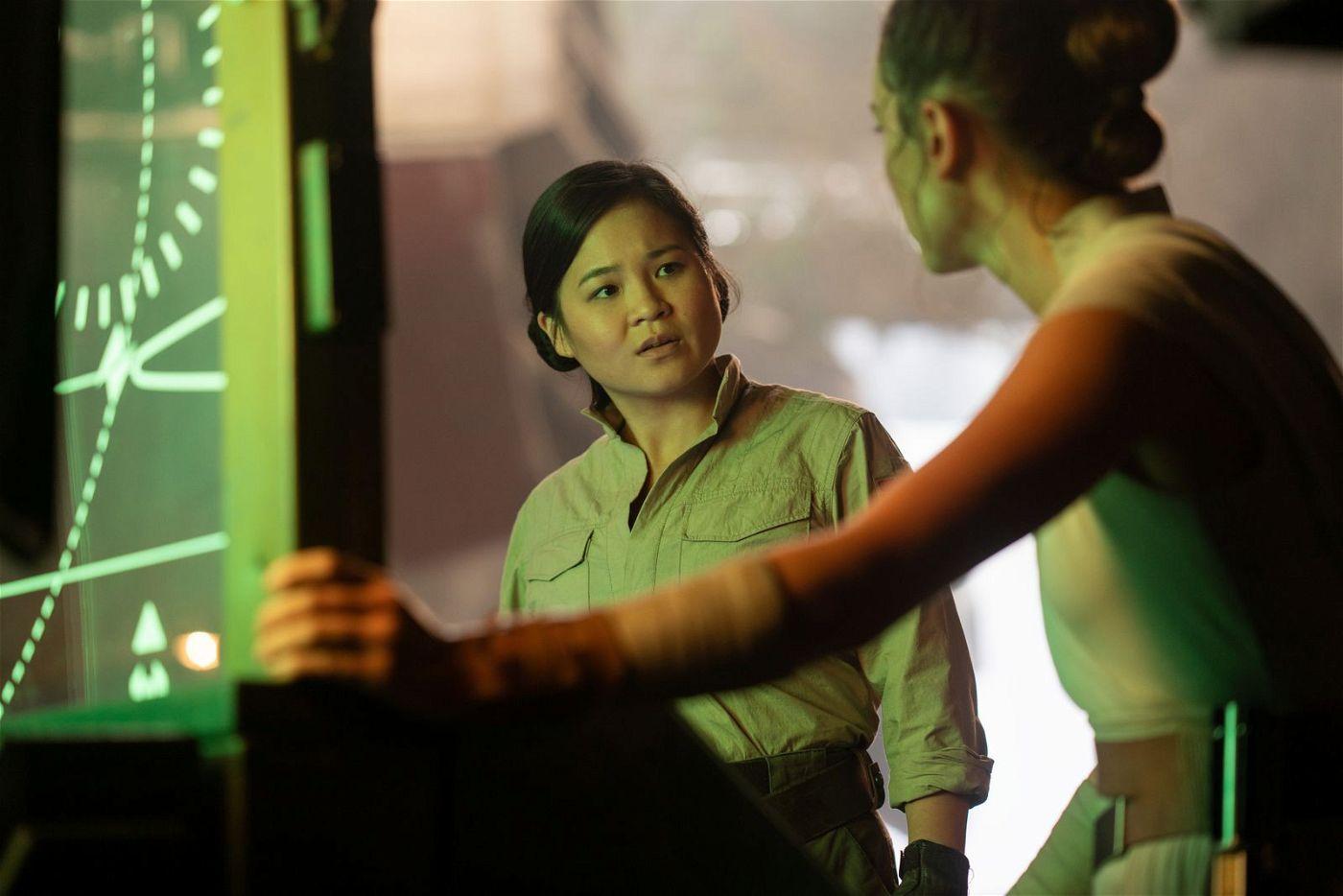 """Rose (Kelly Marie Tran, links, mit Daisy Ridley) hat in """"Der Aufstieg Skywalkers"""" nur einen kurzen Auftritt."""