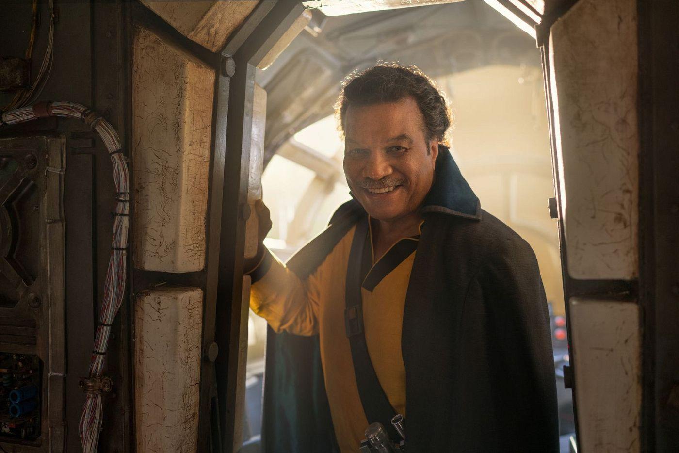 Lando Calrissian (Billy Dee Williams) nimmt wieder Platz in den Reihen der Kämpfer gegen das Böse.