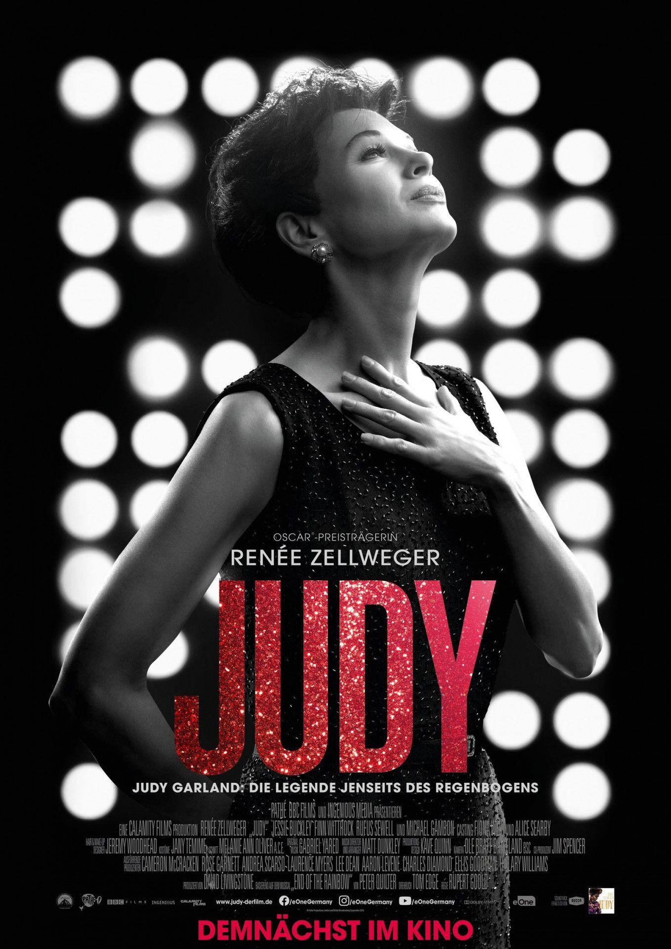 """Der britische Regisseur Rupert Goold sucht in seinem eindrücklichen Biopic """"Judy"""" das Land hinter dem Regenbogen."""