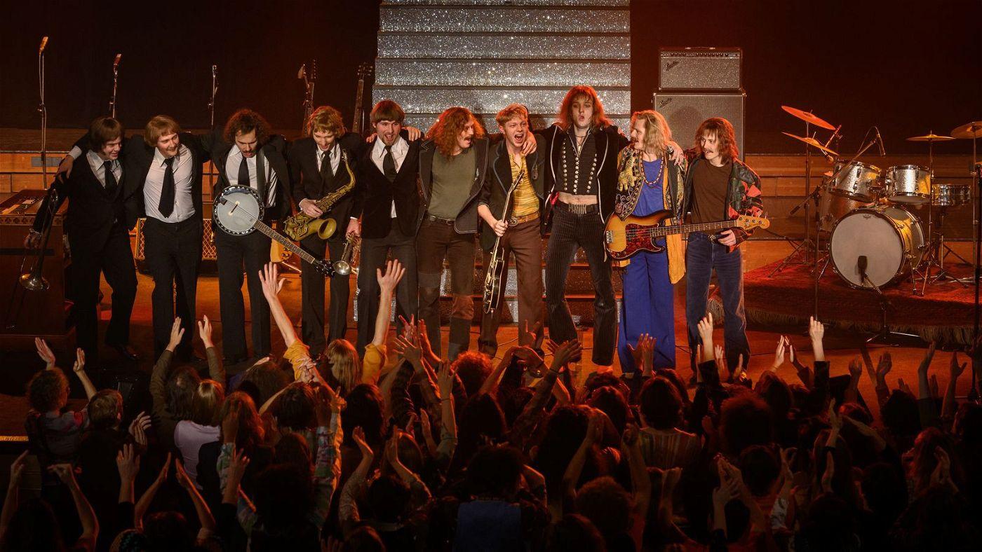 Auf der Andrea-Doria-Tour werden Udo Lindenberg und seine Band 1973 gefeiert.