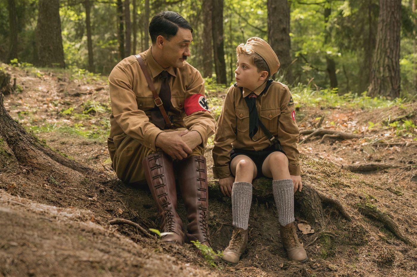 Beste Freunde: Hitler (Taika Waititi) gibt Jojo (Roman Griffin Davis) wertvolle Ratschläge.