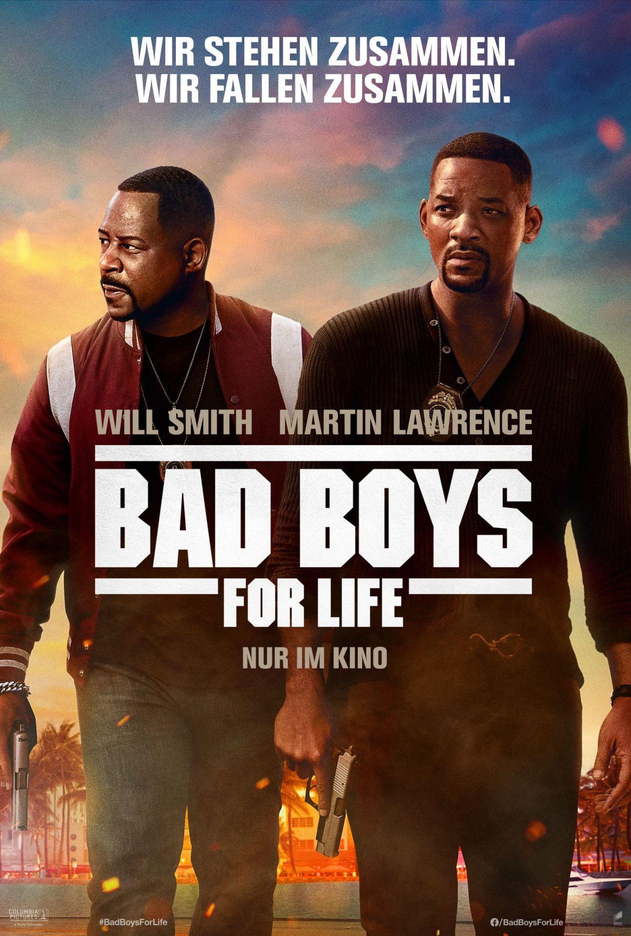"""Nach 17 Jahren kehren Will Smith und Martin Lawrence als """"Bad Boys for Life"""" zurück."""