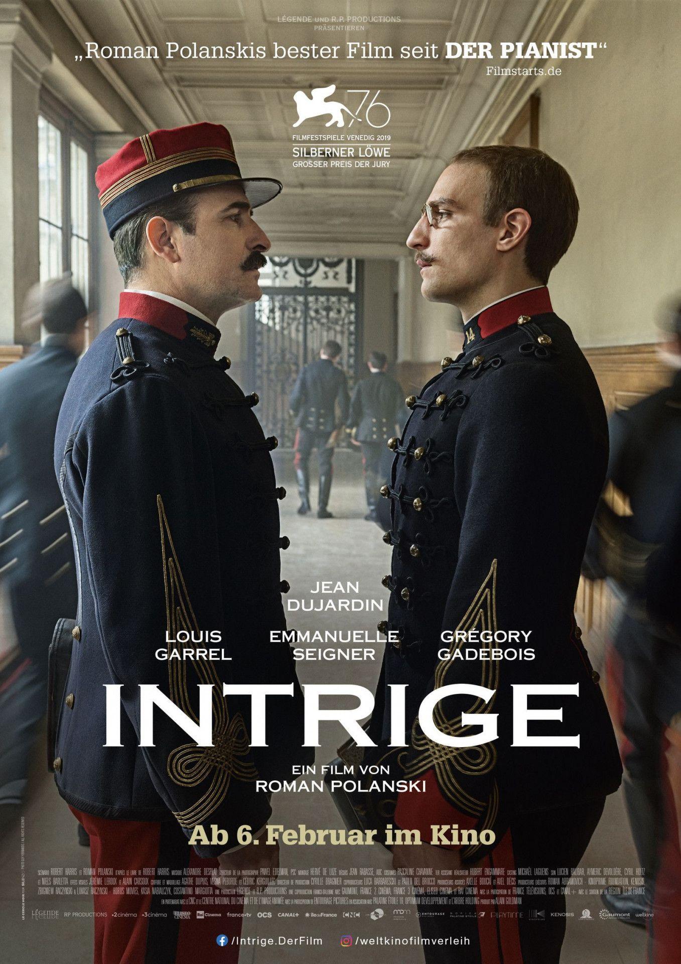 """""""Intrige"""" erzählt die Geschichten der Dreyfus-Affäre nach - und ist gleichzeitig ein persönlicher Kommentar von Regisseur Roman Polanski."""