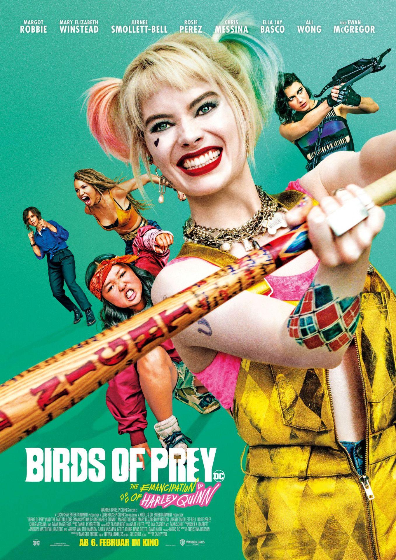 """In Cathy Yans buntem Actionstreifen """"Birds of Prey"""" schwimmt sich Margot Robbie in der Rolle der durchgeknallten Harley Quinn frei."""