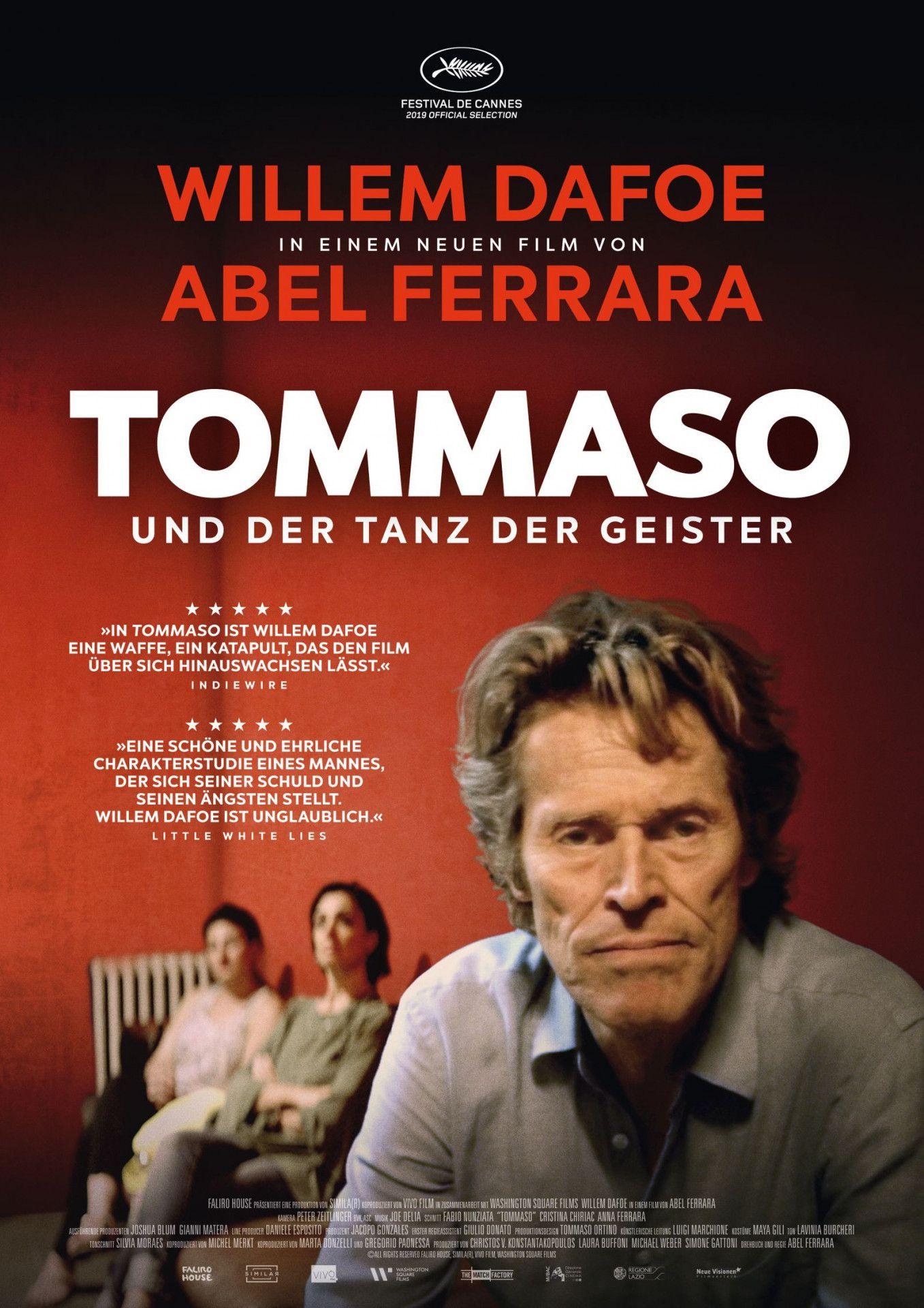 """In """"Tommaso und der Tanz der Geister"""" befindet sich Willem Dafoe auf der Höhe seiner Schauspielkunst."""
