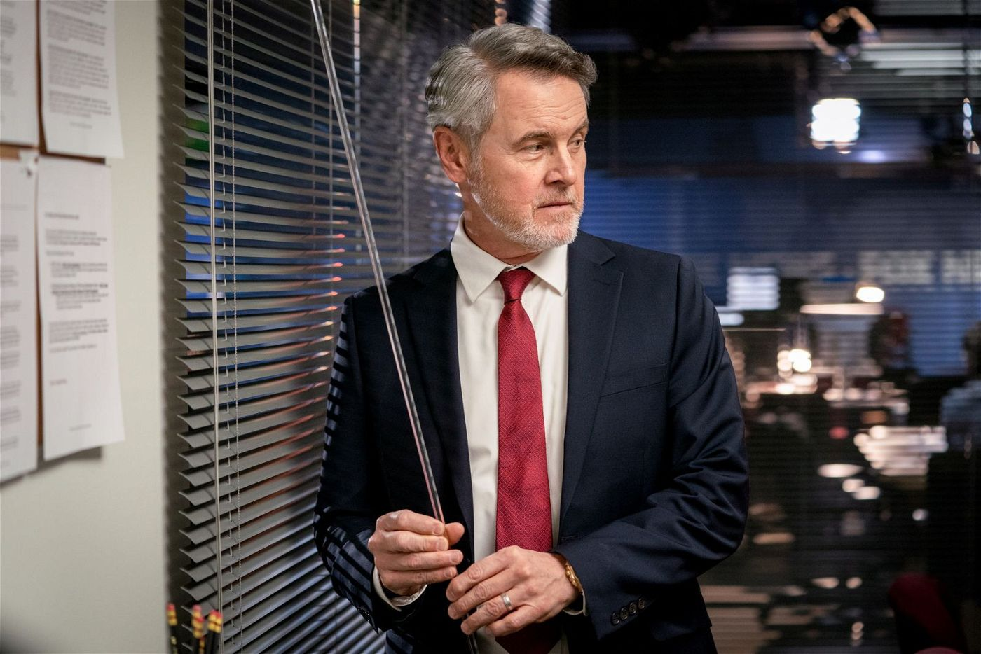 Bill Shine (Mark Moses) machte bei Fox News Karriere, bevor er für Donald Trump arbeitete.
