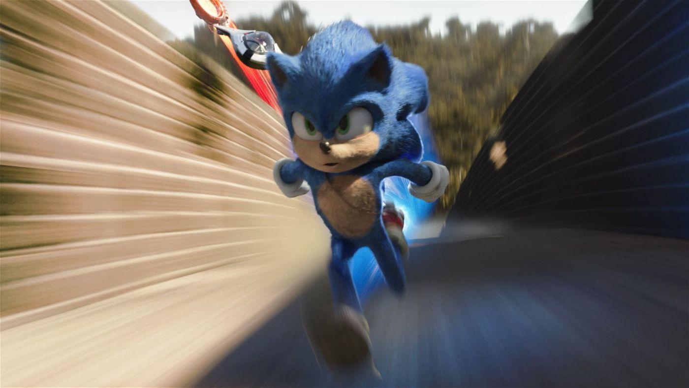 Keiner ist schneller als er: Mit Überschallgeschwindigkeit rast Sonic durch die Gegend.