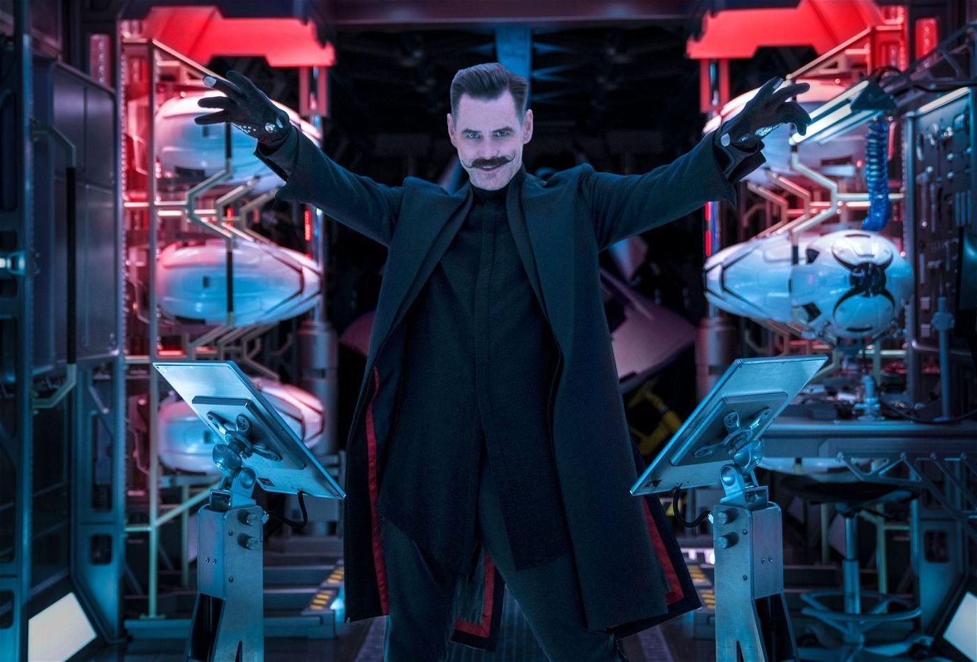 Mithilfe von Sonics Energie will Dr. Robotnik (Jim Carrey) seine Pläne in die Tat umsetzen.