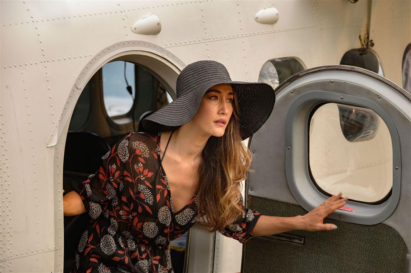 """Bei der Ankunft auf """"Fantasy Island"""" ahnt Elena (Maggie Q) noch nicht, was sie erwartet."""