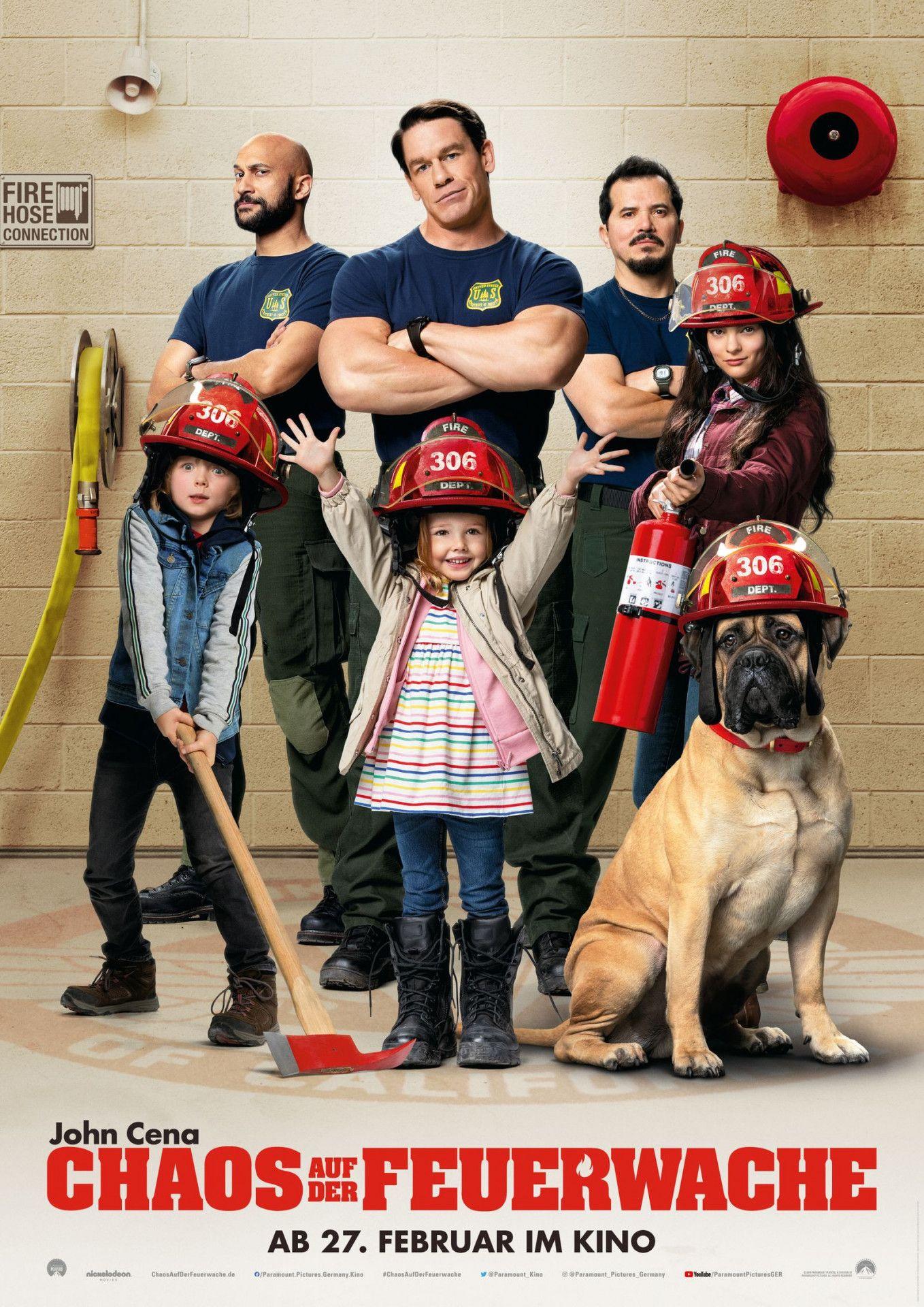 """Was sollen vier harte Feuerwehrmänner mit drei kleinen  Kindern anfangen? Die Komödie """"Chaos auf der Feuerwache"""" geht der Frage ganz nach dem Schema von """"Daddy ohne Plan"""" nach."""