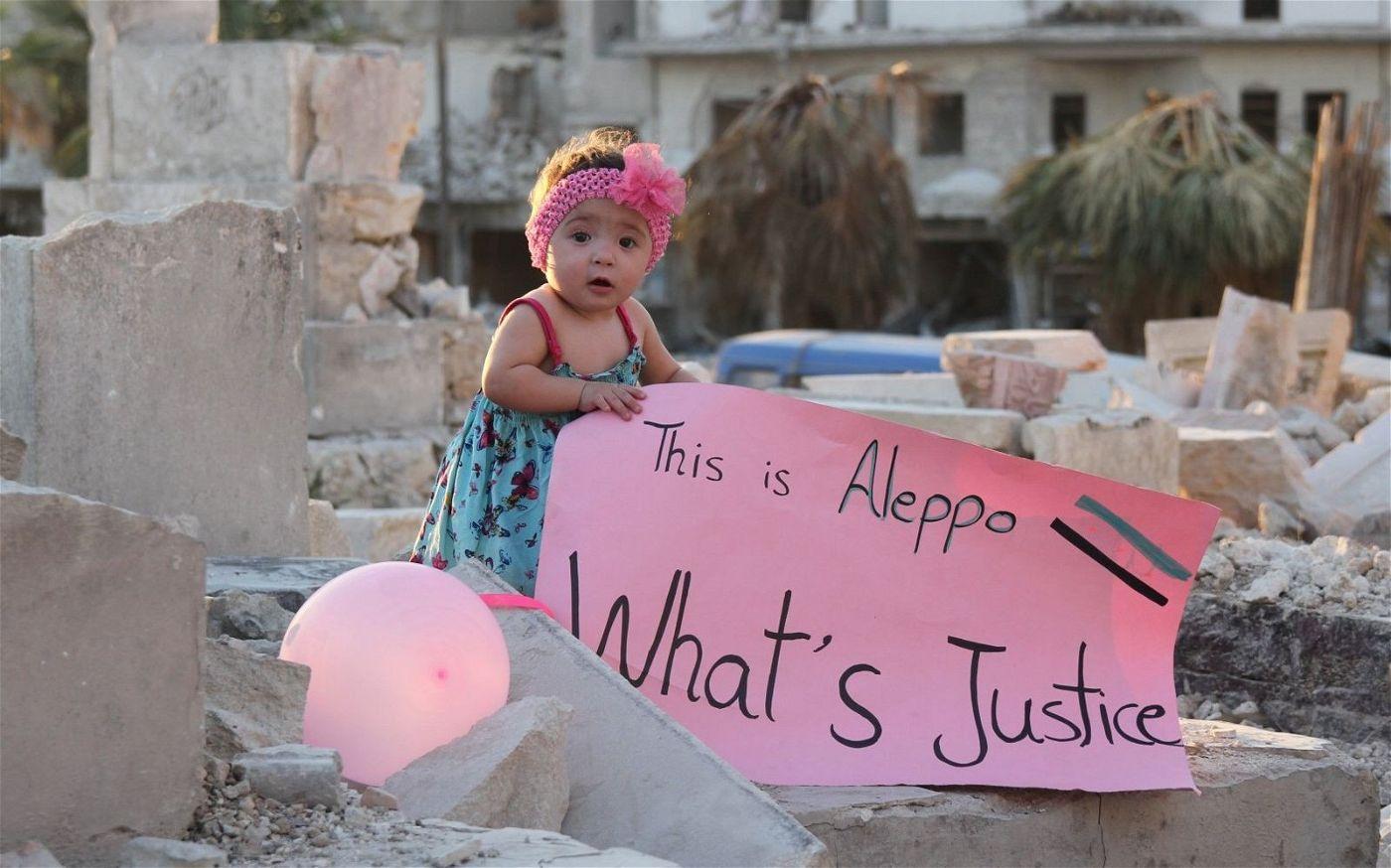 """Für ihre Tochter drehte Waad al-Kateab ihren Dokumentarfilm """"Für Sama""""."""