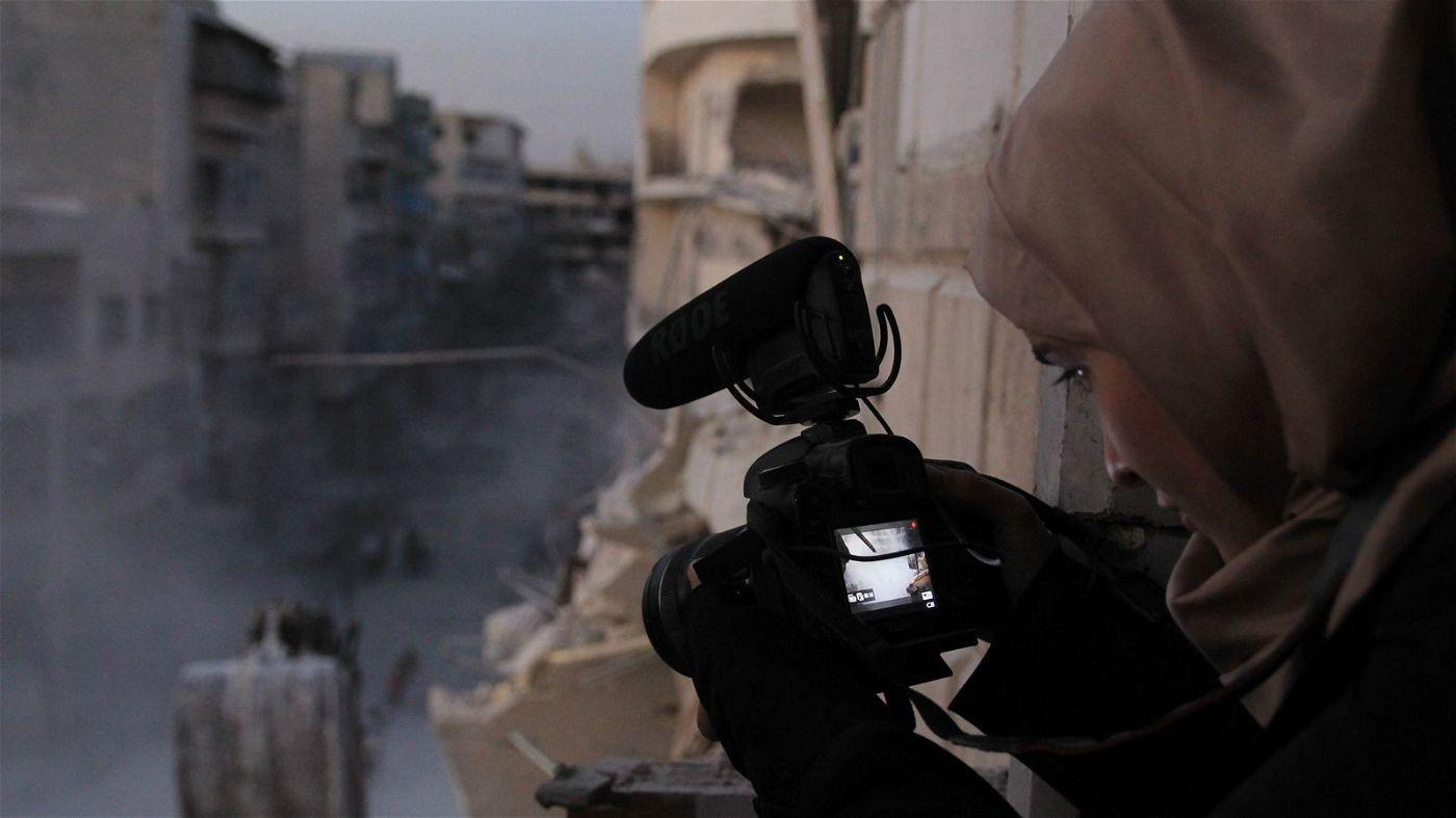 Waad al-Kateab zeigt den Alltag im belagerten Aleppo.