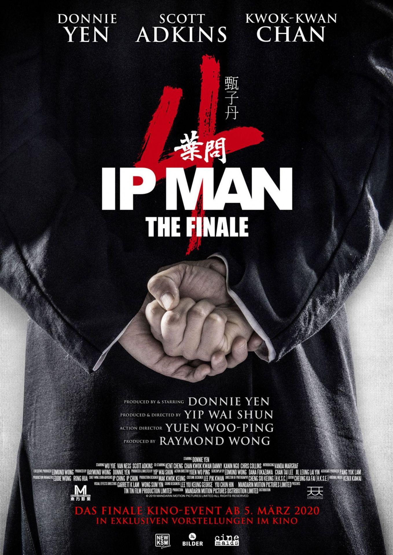 """""""Ip Man 4: The Finale"""" beschließt die Martial-Arts-Reihe rund um den legendären Wing-Chun-Meister aus China."""