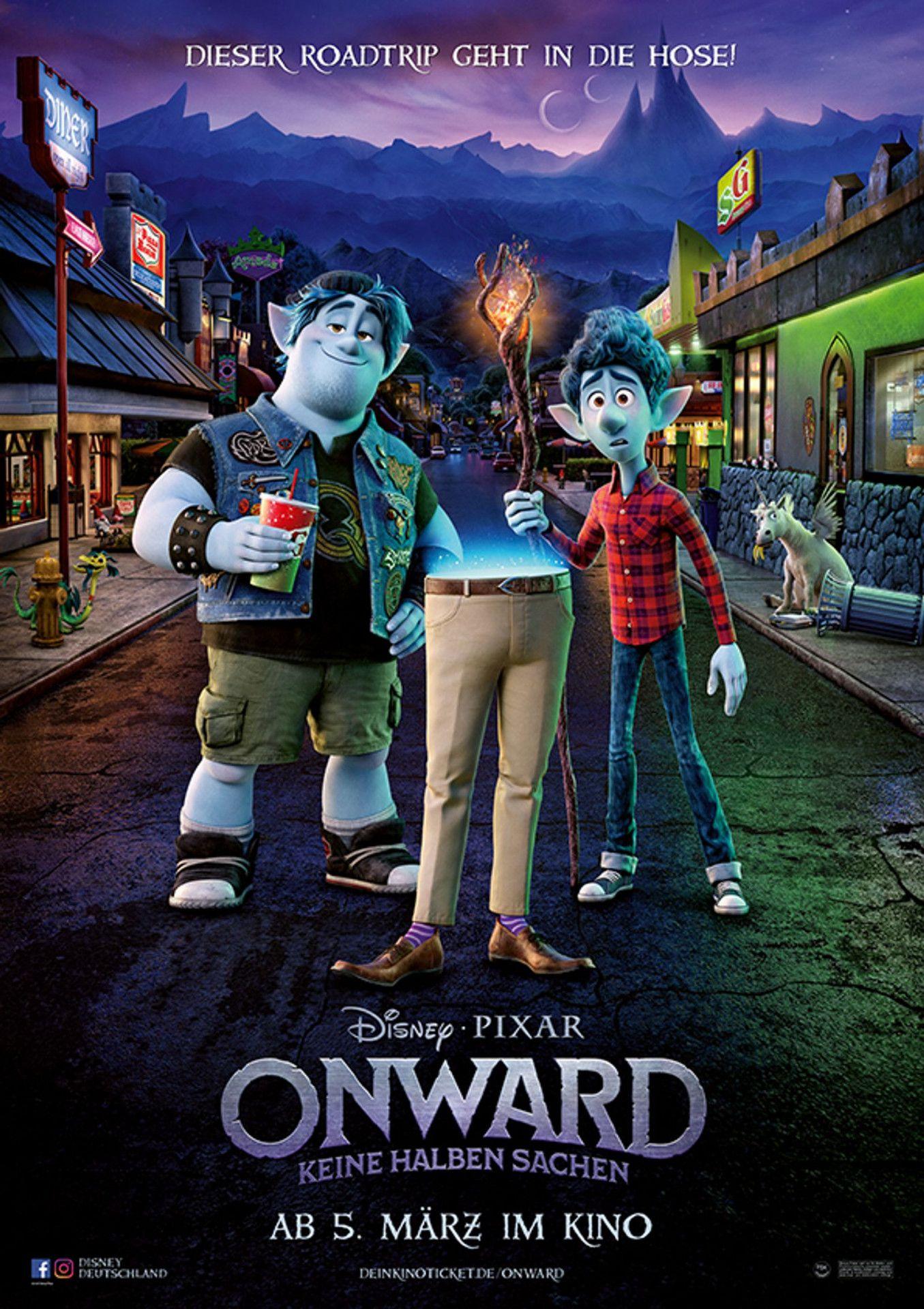 """""""Onward: Keine halben Sachen"""" ist ein klassischer Pixar-Film: berührend und wunderbar animiert."""
