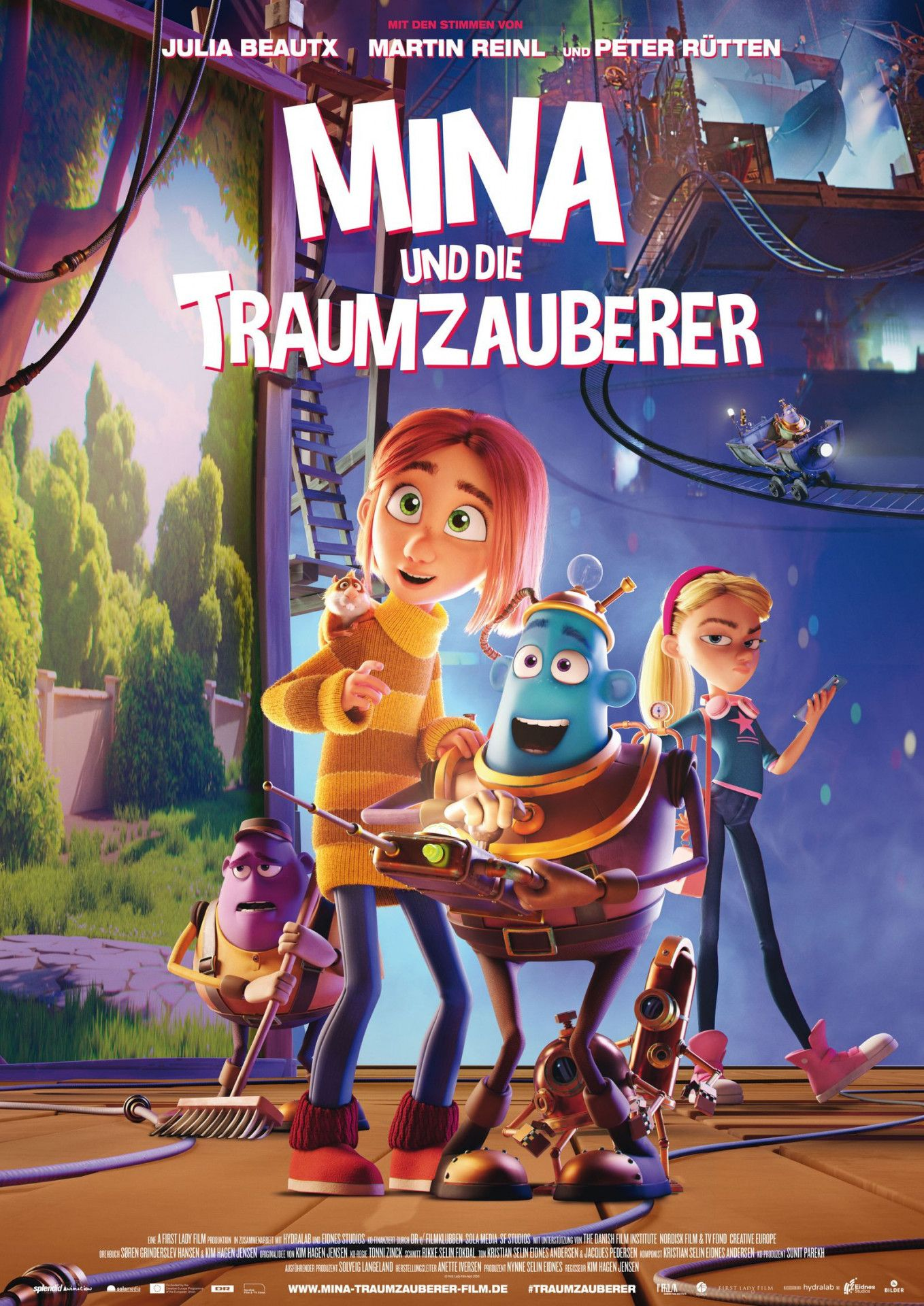 """""""Mina und die Traumzauberer"""" ist ein Animationsfilm aus Dänemark, der an die großen Hollywood-Vorbilder nicht herankommt."""