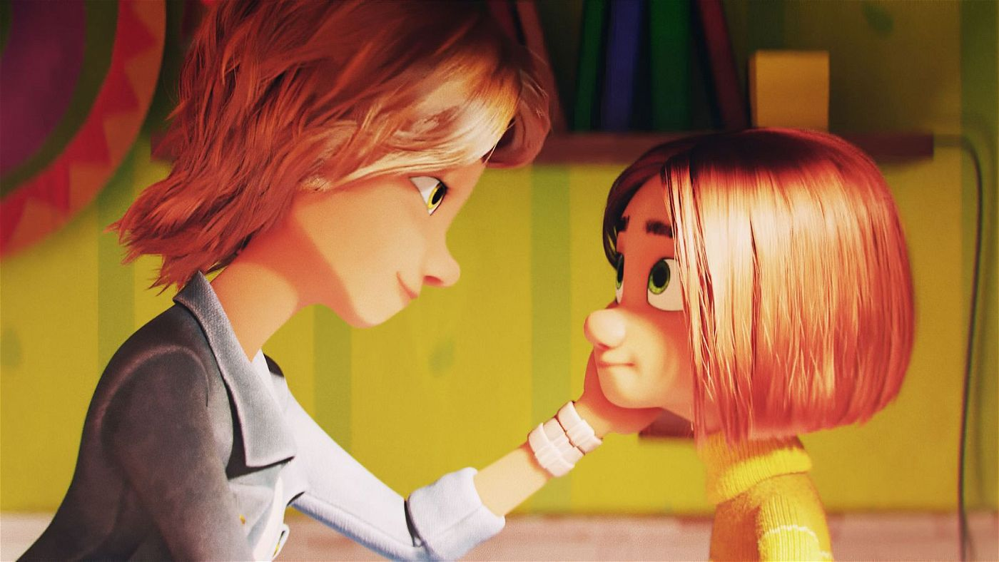 Mina (rechts) vermisst ihre Mutter noch immer sehr.