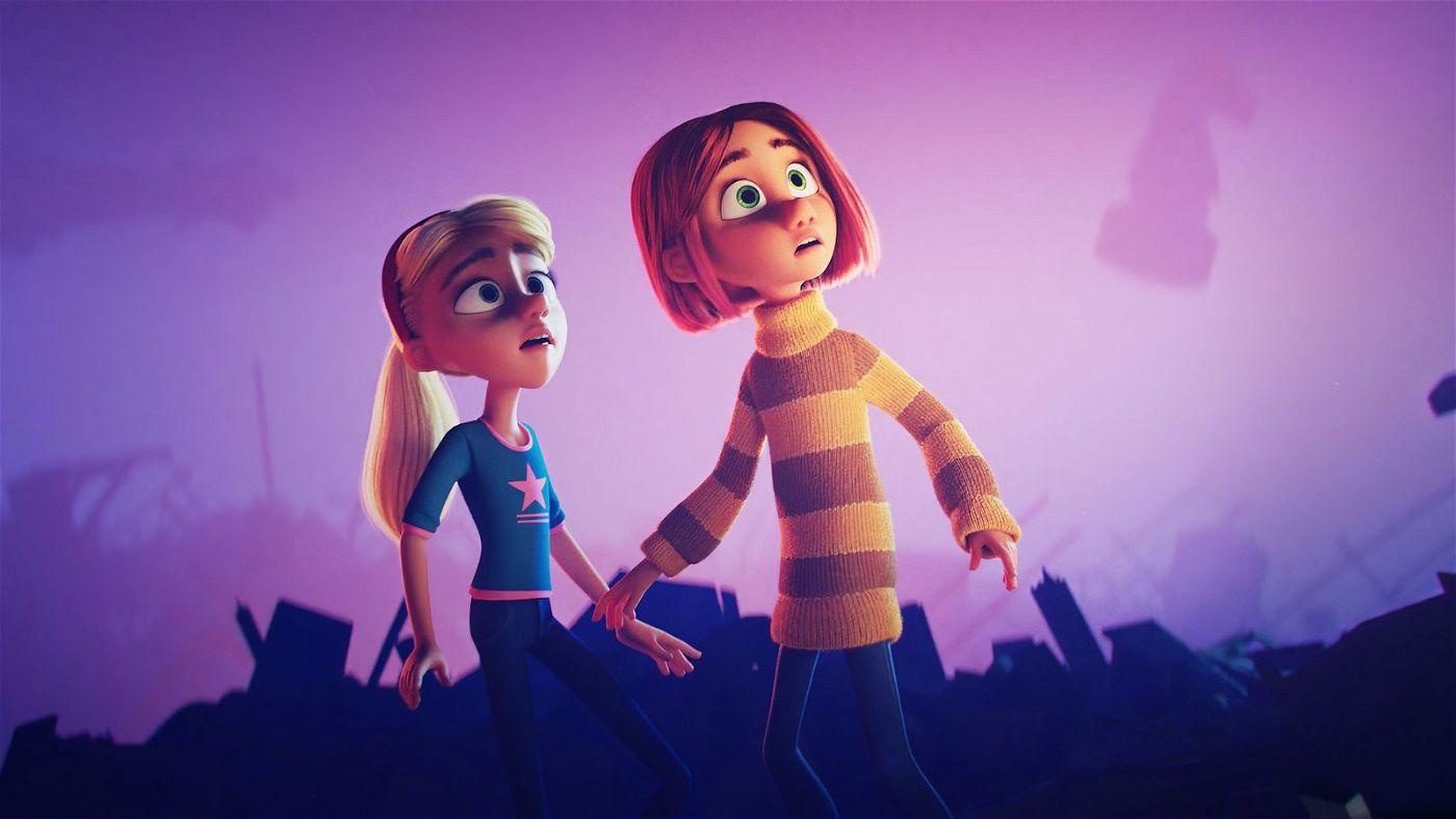 Mina (rechts) und Jenny reisen in die Unterwelt der Träume.