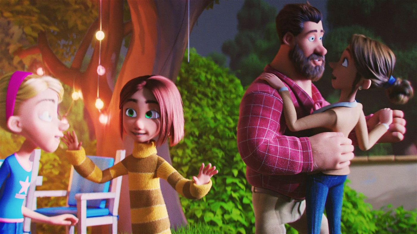 Minas Vater träumt von einer heilen Familie. Seine Tochter und deren Stiefschwester wollen aber nicht so recht mitspielen.