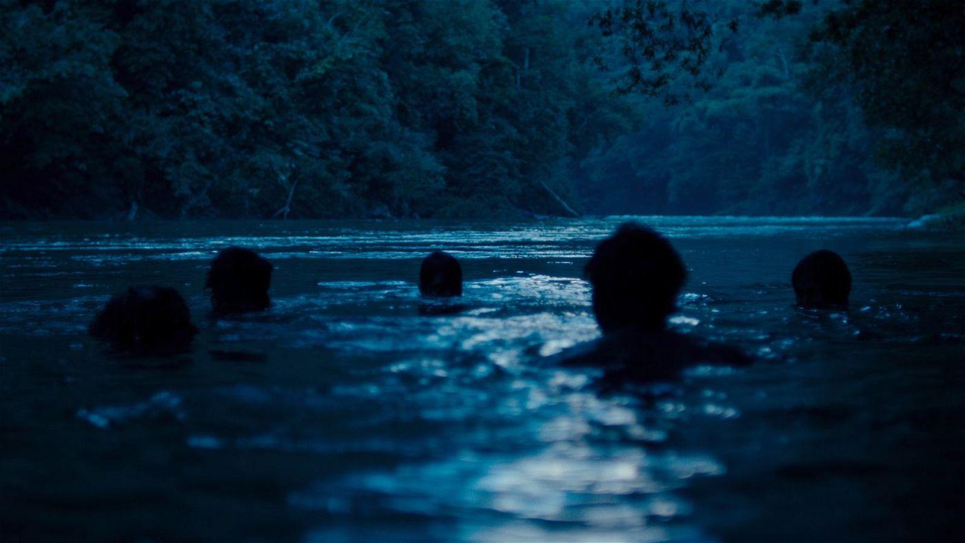 """Der Dschungel wirkt in """"Monos"""" so, als würde er die menschliche Natur verschlingen wollen."""