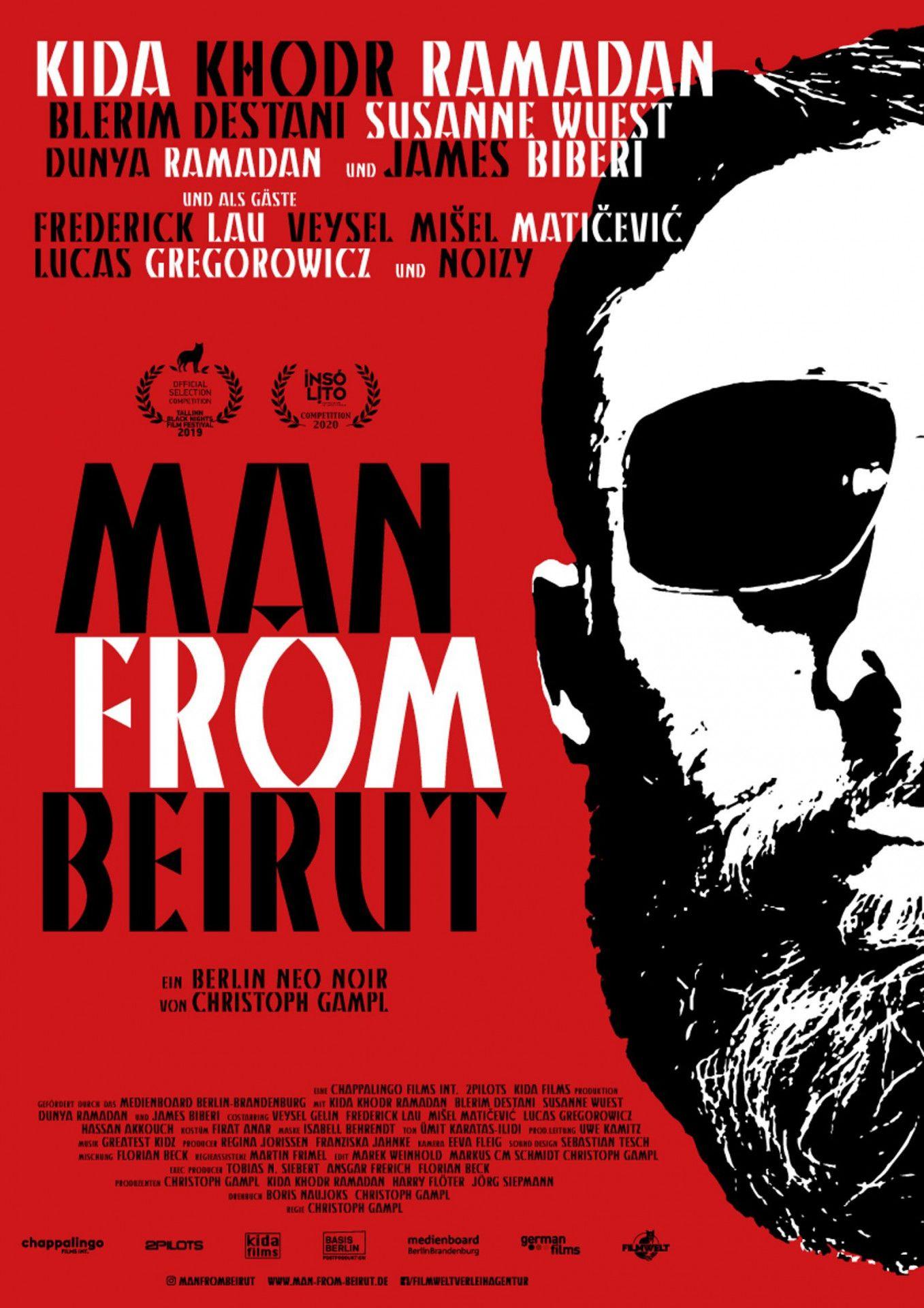 """Kida Khodr Ramadan spielt einen blinden Auftragskiller im stylishen Neo-Noir-Film """"Man from Beirut""""."""
