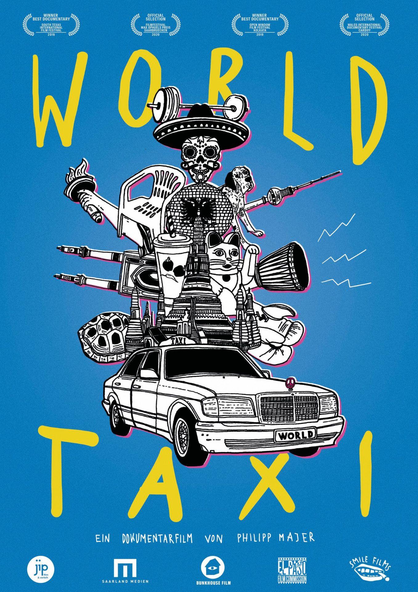 """Der Dokumentarfilm """"World Taxi"""" begleitet Taxifahrer und ihre Gäste."""