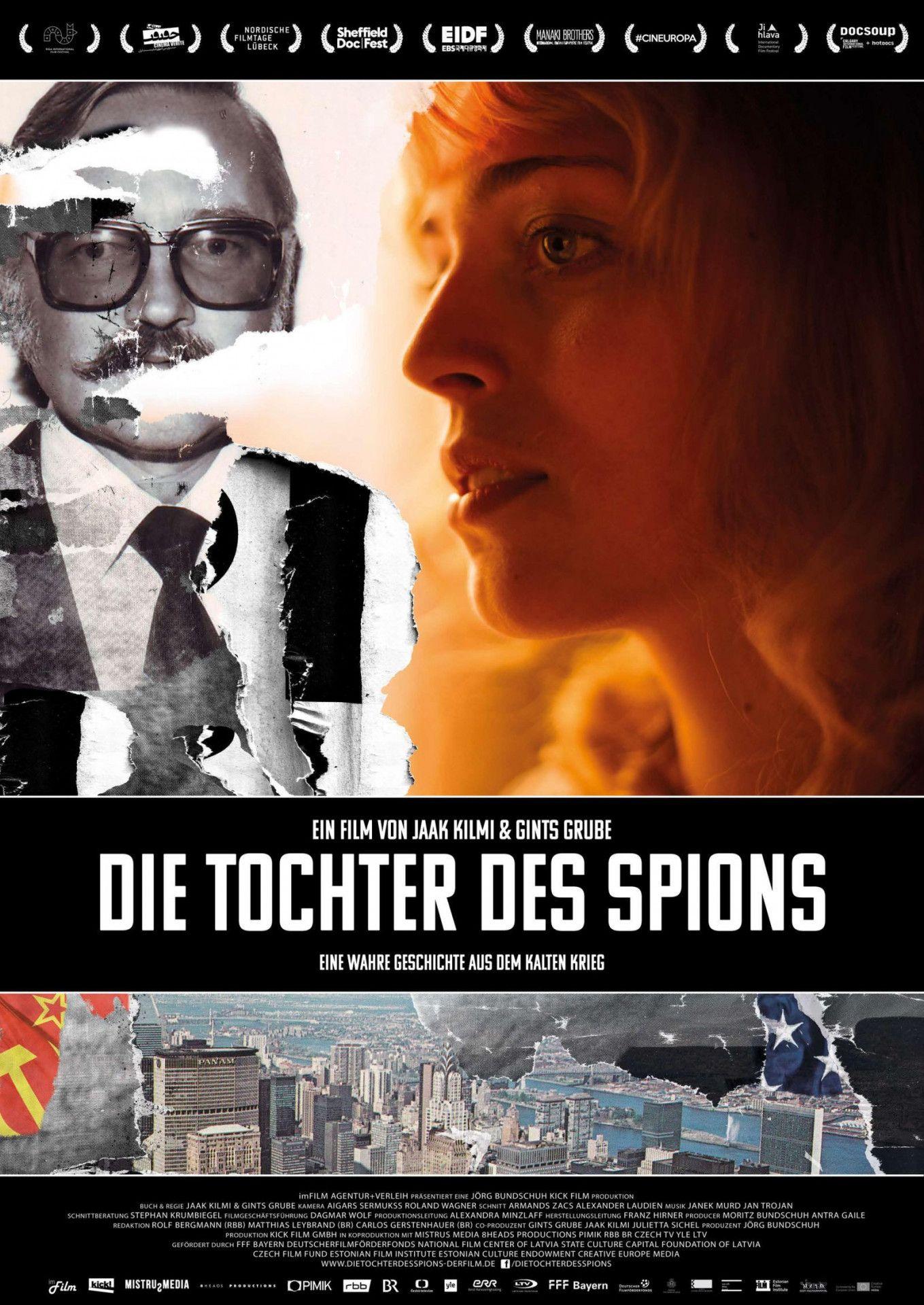 """Im Dokumentarfilm """"Die Tochter des Spions"""" geht die lettische Journalistin Ieva Lesinska-Geibere der Frage nach, wie ihr Vater zu Tode kam."""