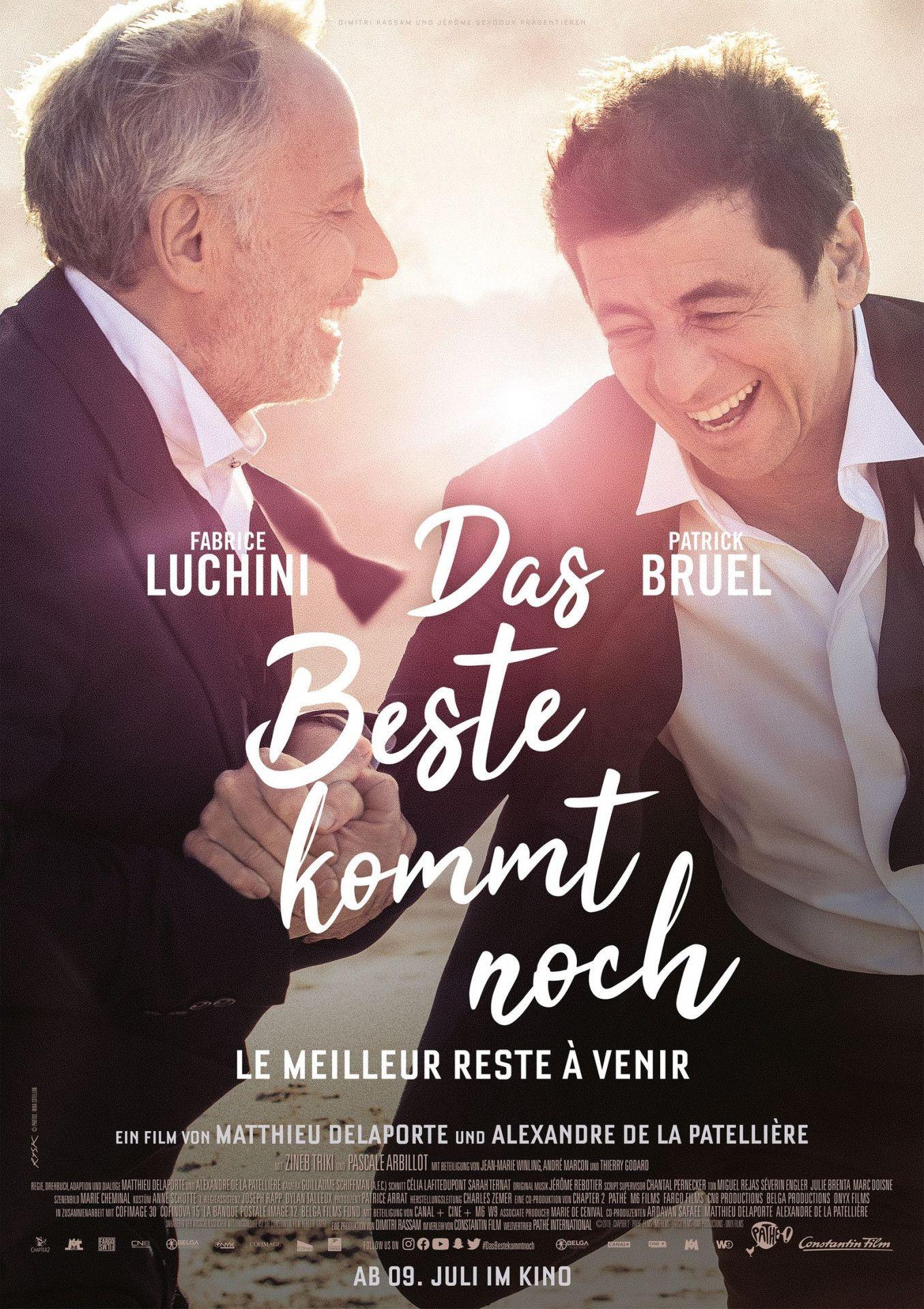 """In """"Das Beste kommt noch - Le meilleur reste à venir"""" versuchen zwei Freunde, ihre letzten gemeinsamen Tage so gut zu genießen wie möglich."""