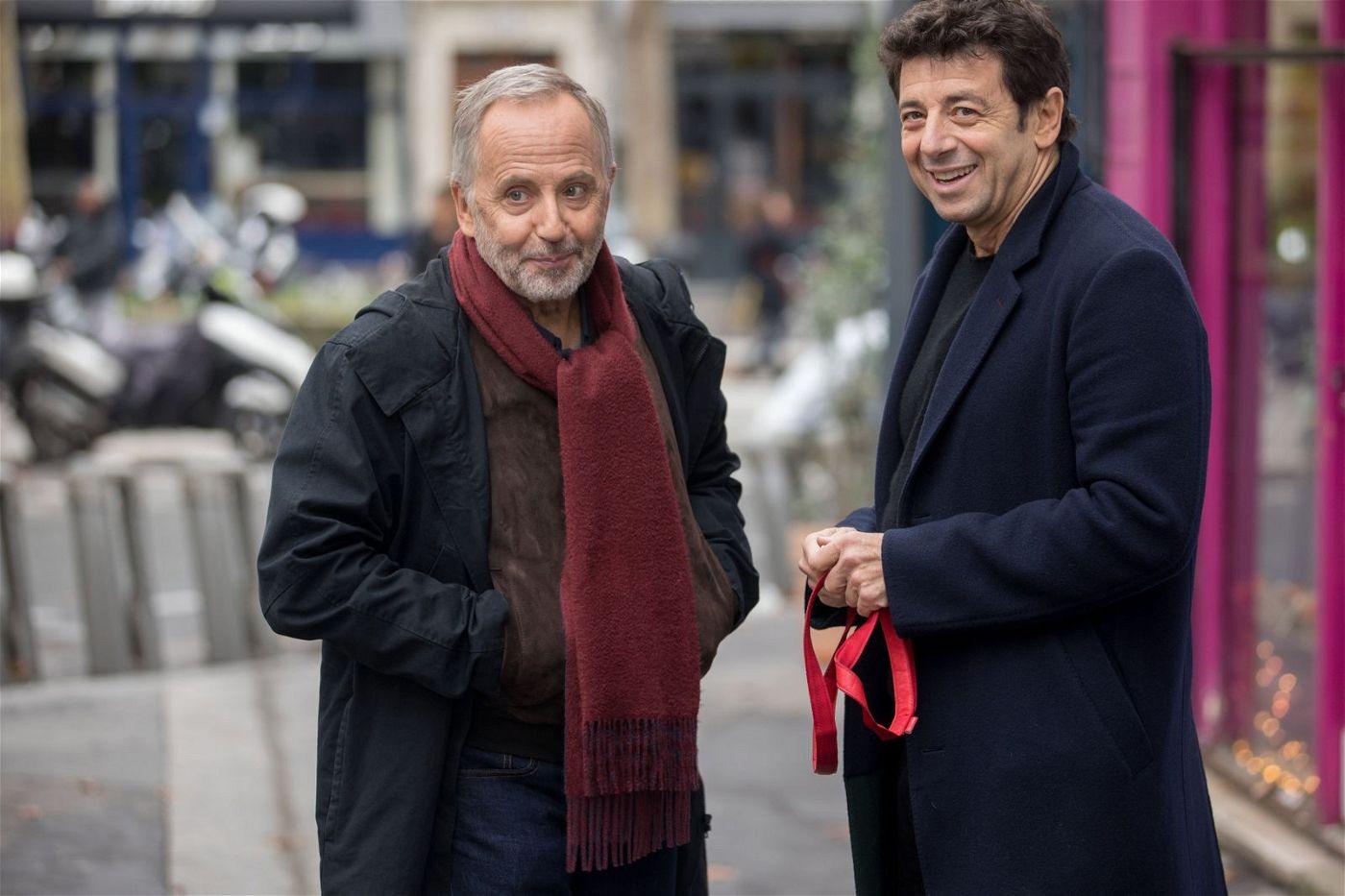 Arthur (Fabrice Luchini, links) und César (Patrick Bruel) glauben, dass der jeweils andere bald sterben muss.