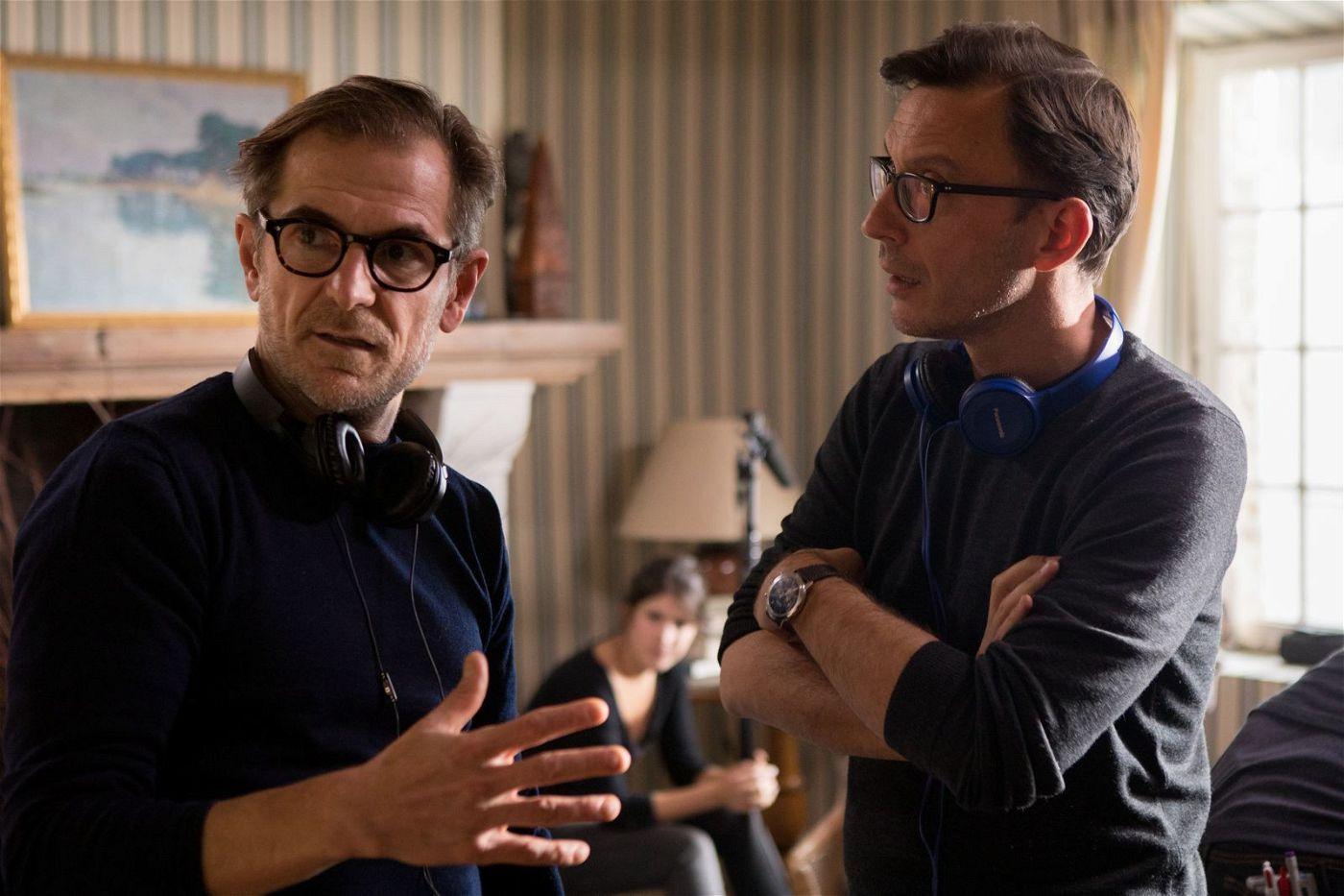 """Matthieu Delaporte (links) und Alexandre De La Patellière führten bei """"Das Beste kommt noch - Le meilleur reste à venir"""" Regie und schrieben auch das Drehbuch des Films."""
